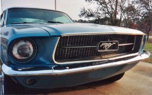 1967 Mustang Coupe by teutelquessir