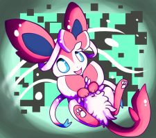 Cute Sylveon by PaleBlank