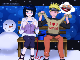Naruhina ~ winter Gift by hallow1791