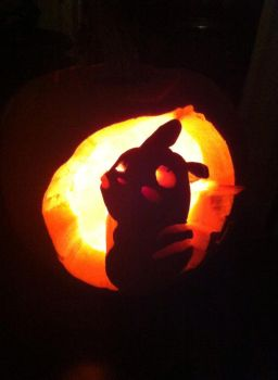 Poopachu Carving by ValentinTheGamer