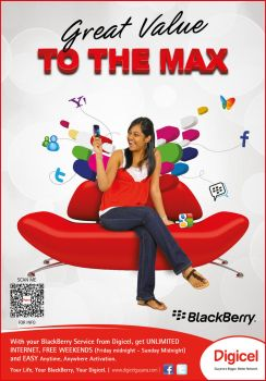 Digicel BlackBerry Value Ad by jlampley
