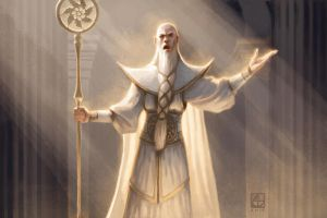 High Priest by alexstoneart