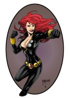 Black Widow by statman71
