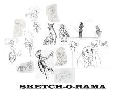 Sketch-o-Rama by Dr3wdub
