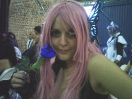 Luka and the blue rose by hanako92