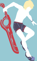Vectorized: Beach Shulk by ViralDrone