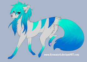 Character Design Commission for SqueeWolf by solstice5