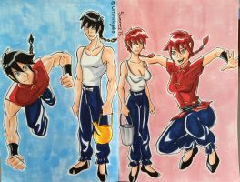 Ranma! by ultimatejulio