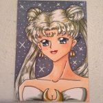Queen Serenity ATC by JessLynne1227