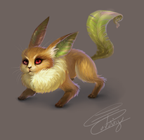 leafeon by cording44