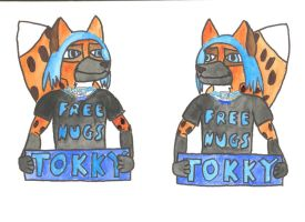 My Con Badge by Wedgie-Fox
