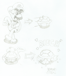 Mario's Shell by 3DylanStar