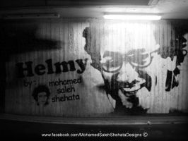 Helmy Graffiti Art by mohamedsaleh