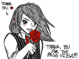 Thank You! (10,000 Page Views) by Gabby413
