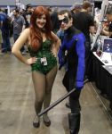 Ivy and Nightwing @ C2E2 2012 by MonkeySquadOne