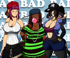 Ghetto Gurls by BlackSen
