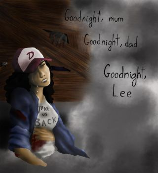 The Walking Dead_Goodnight -painting version- by Abecedye