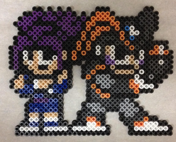 Bass and Disco Perler Bead Sprite by pharos04