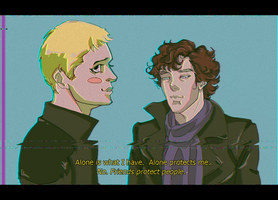 wrong again sherlock by Nunar
