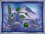 Bluebirds Chorus by sallygilroy