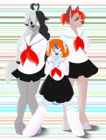 Sailor suits by YoShugo