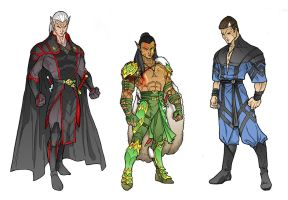 Dnd Characters by sean-izaakse