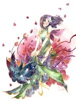 Flowersong by luciole