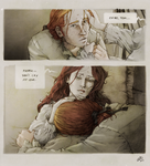 at her deathbed by nami64