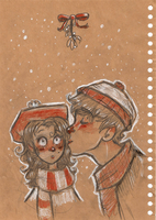 -Mistletoe- by HennaLucas