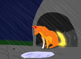 raining amber by chaopets