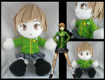 Chie plushie - Persona 4 by eitanya