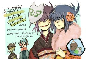 HAPPY NEW YEAR2012 by mushiba-chan
