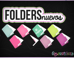 Folders New By Annielove by Analaurasam