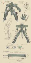 +WM Mech ref Gangrene + by Endless-warr
