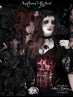 Black Roses In My Heart by LadyxBoleyn