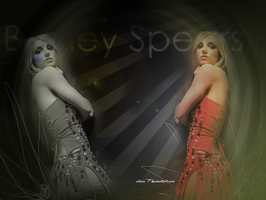 Britney Spears wall2 by silene7