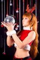 Kasumi Christmas New Year costume 5 by grellkaLoli