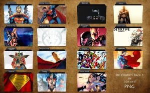 DC Comics Folder Pack by 3o1415