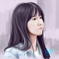 [Painting] Yoongie by TieuVo