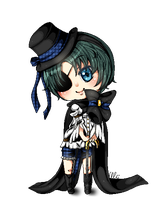 Ciel chibi, the Re-done by TheULTImateAngel