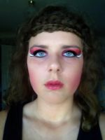 katniss makeup in catching fire by Lozza1234