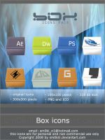 BOX icons pack by sm0kiii