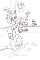 Bunnie saves the (sun)day by Gx3RComics