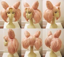 Chibiusa Wig Commission by red-cluster