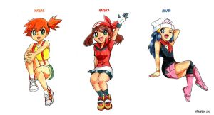 ::Pokegirls:: by Atharple