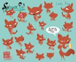 the many faces of fox by anarchy66677