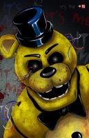 Golden Freddy by WiL-Woods
