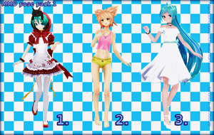 MMD Pose Pack 1 by Adrianbrazt10