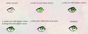 Eye Coloring Tutorial by anothertutorial