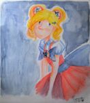 magical fighter norway watercolors by frenciDA